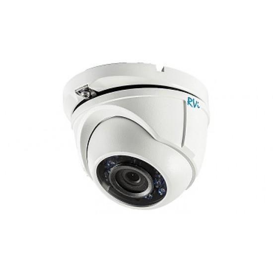 Антивандальная TVI камера видеонаблюдения TVI RVi-HDC321VB-T (2.8)